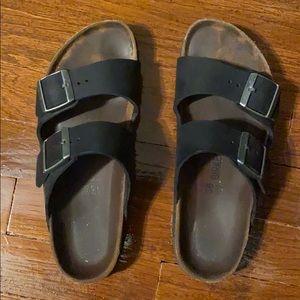 Birkenstock Arizona leather sandals 38 7.5 8 N